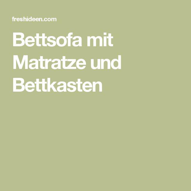 Bettsofa mit matratze  Πάνω από 25 κορυφαίες ιδέες για Bettsofa Mit Bettkasten στο ...