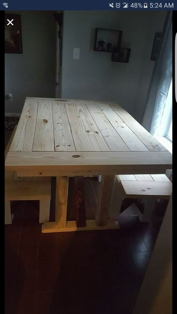 Home made Farmhouse table for sale