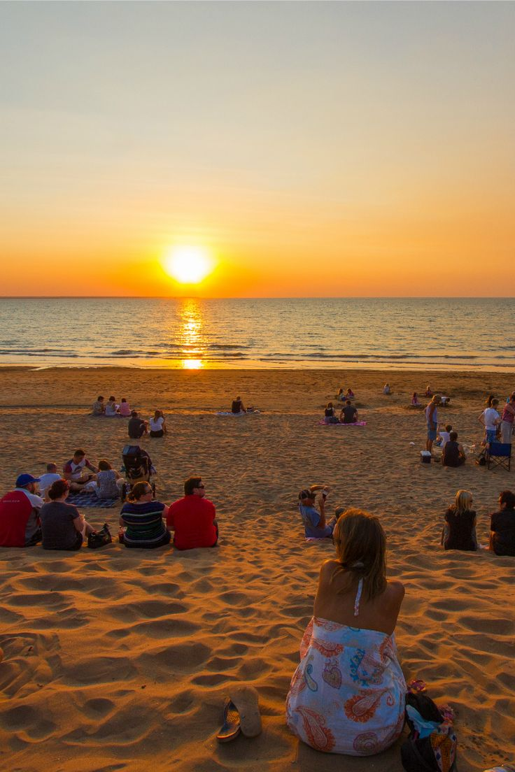Sunset at Mindel Beach, Darwin, Australia
