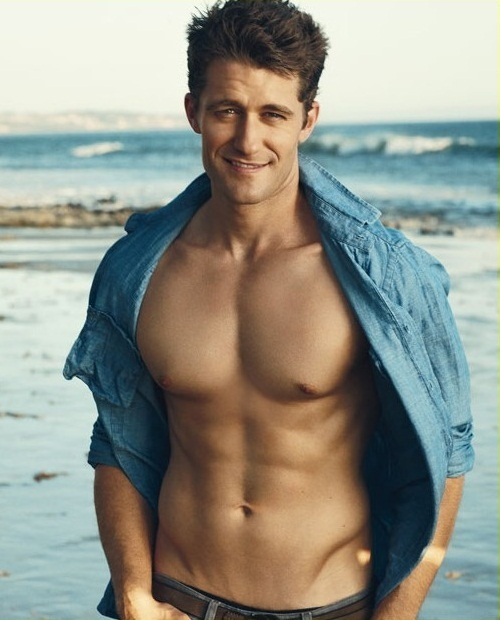 Matthew Morrison. Can sing, is hot and can wear no shirt or a sweater vest and still be sexy!