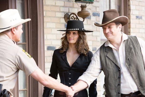 #Castle e Beckett viajam ao velho oeste; veja fotos