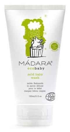 Delikatny płyn do mycia i kąpieli dla niemowląt i dzieci MADARA ecobaby.