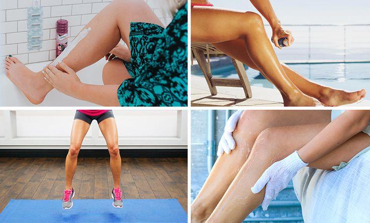 summerproof benen klaar voor zomer