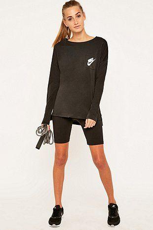 Nike Signal Long Sleeve Black T-shirt