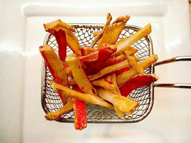 Krokante surimi chips uit de airfryer (WEEKEND TIP!)