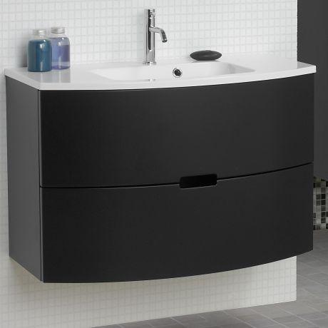 Scanbad Modern Waschtisch Mit Unterschrank 90 Cm Mit 2 Schubladen