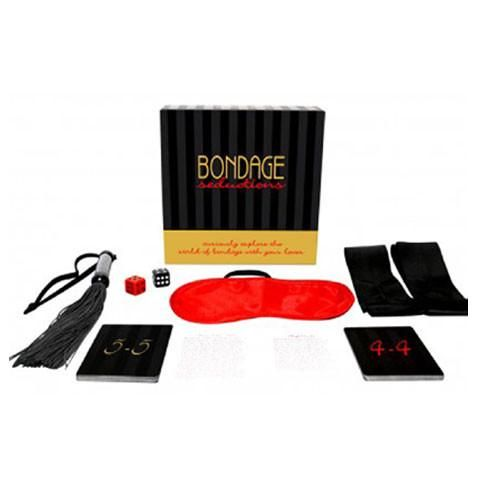Indulge as deeply as both you and your partner are comfortable with,into bondage…