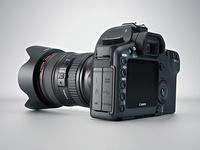 3d Canon 5d camera