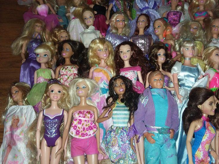 lot of 50 barbie & mattel dolls | eBay