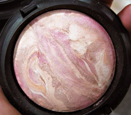 """MAC Mineralized Skin Finish in Perfect Topping - the best highlighting powder I've ever found for my skin. Not too gold, not too silver, not glittery. It really gives a """"lit from within"""" glow when you apply it on your cheekbones, bridge of your nose, and cupid's bow. I love mine. It's hard to find now"""