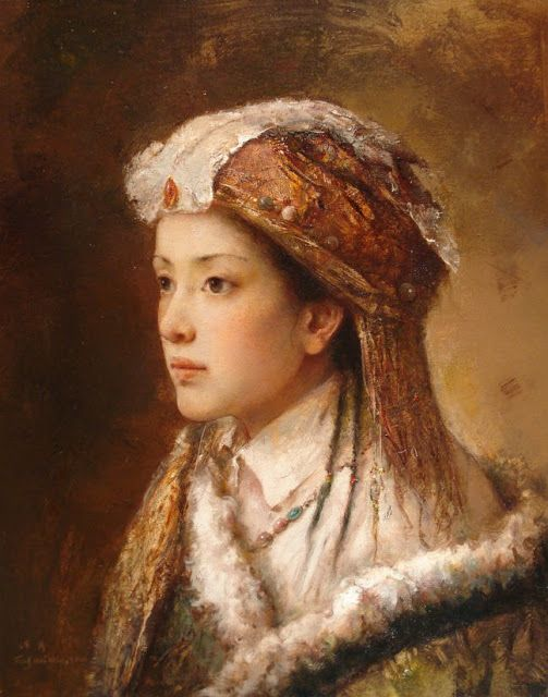 tang wei min paintings: