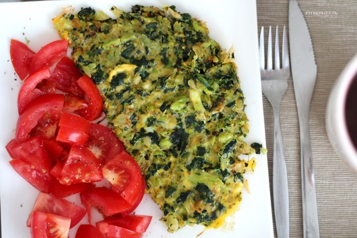 Broccolispinazieomelet