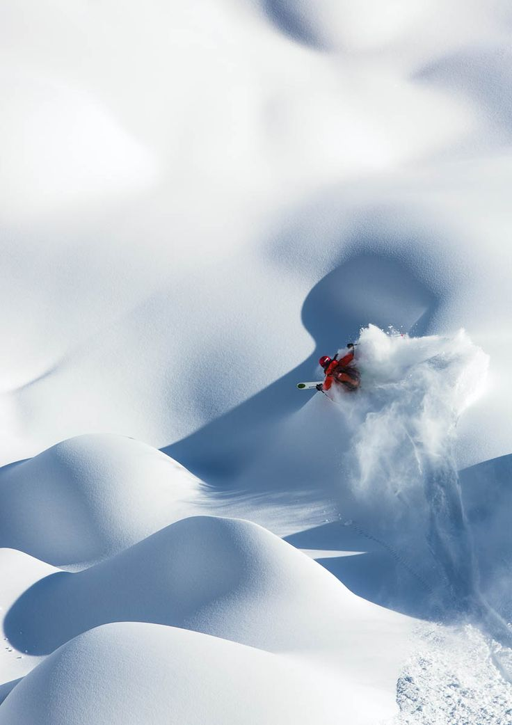 Drop everything and hit the slopes. Best Ski Photography | Powder Skiing | Photo Annual | Skiing Magazine