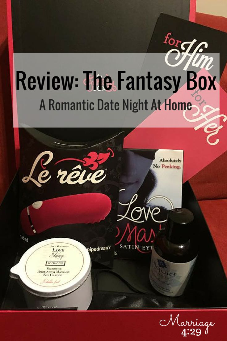 subscription box with a variety of goodies to spice up your sex life