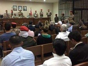 Cadena perpetua a jordano que mató a tres militares de EEUU