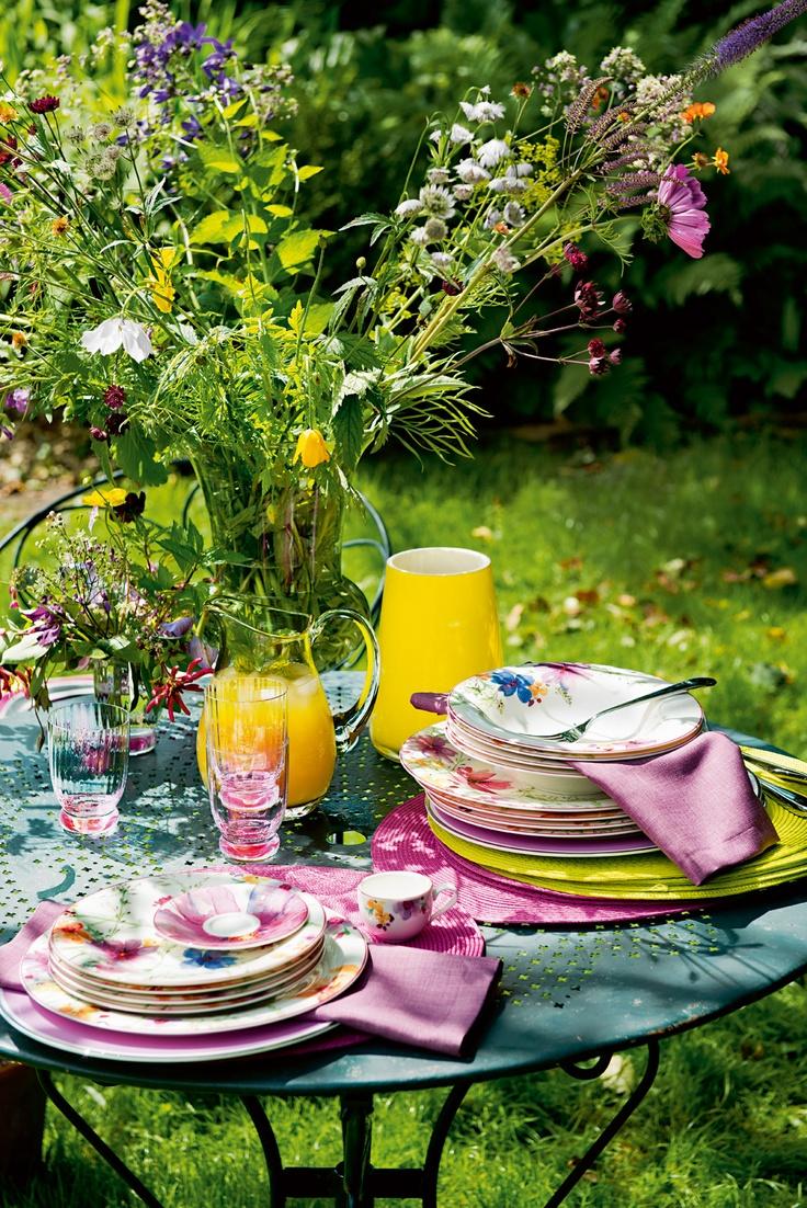 A colourful, fresh summer look!