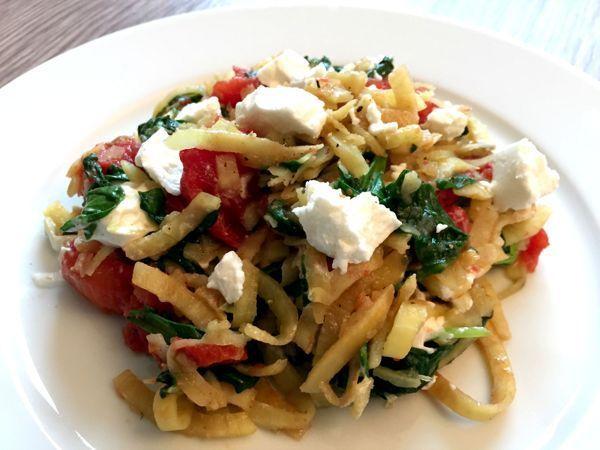 Zoete aardappel pasta - Karlijnskitchen.com