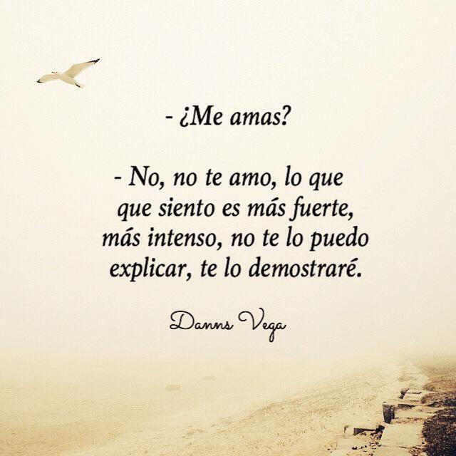 ¿Me amas ? .......yo tambien amor ,lo q siento es mucho más fuerte y te lo demostrare AMOR MIO!
