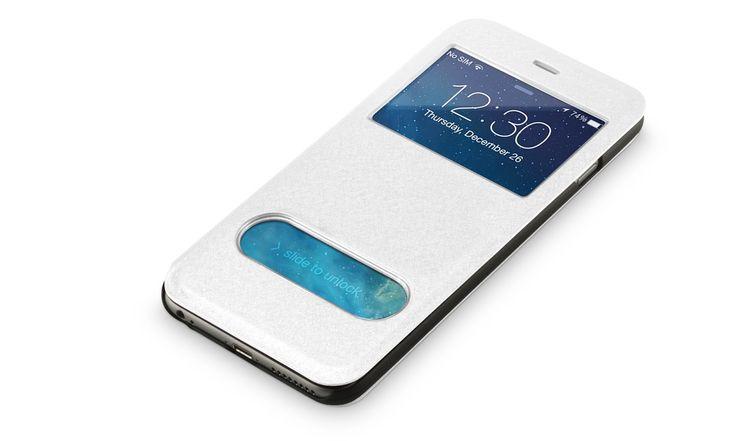 Dit praktische beschermhoesje geeft u toegang tot alle knoppen en poorten op de iPhone 6. U kunt zelfs de telefoon aannemen zonder het hoesje te openen. Ook kunt u het hoesje als een stand gebruiken, zodat u handsfree telefoongesprekken kunt voeren of video's kunt bekijken.