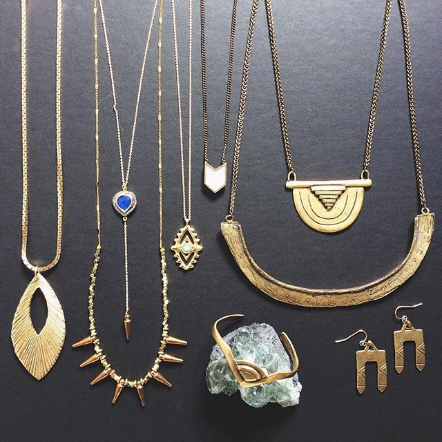 Prism Boutique X Tiffany Kunz Jewelry X M Grace Jewelry X Torchlight Jewelry Chevron