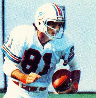 Jimmy Cefalo -wide receiver for the Miami Dolphins and Penn State alum.
