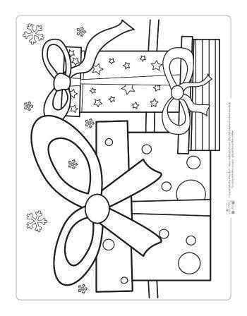 Free Christmas Coloring Pages   Christmas   Navidad, Manualidades ...