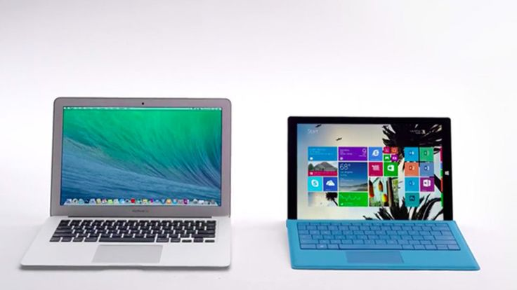 Microsoft reignites Mac vs. PC conflict for new Surface Pro 3 ads