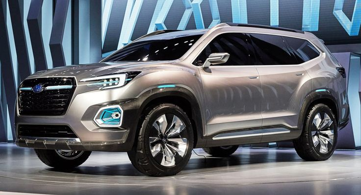 This Is Subaru's New Viziv-7 Mid-Size SUV Concept And It Rivals VW's Atlas