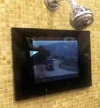 MB Quart In-Shower HDTV ($1800)  Maybe the president uses one to keep the nation from collapsing while he's in the shower, but I don't see t...