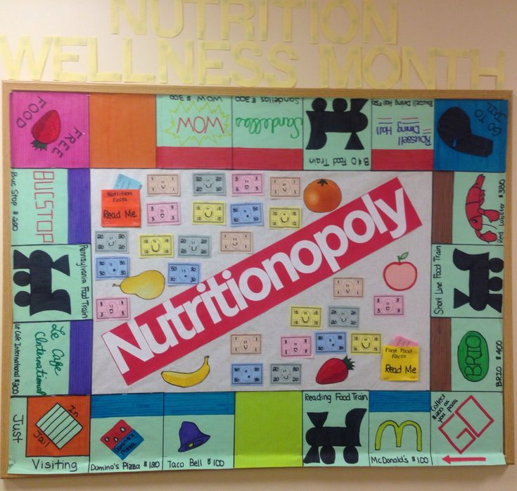 Classroom Bulletin Board Ideas Nutrition Month : Best school cafeteria bulletin boards images on