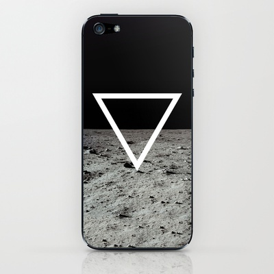 Moon Triangle iPhone & iPod Skin by Matěj Kašpar Jirásek - $15.00