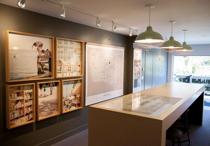 The woods sales centre free agency creative glenmont for Leasing office decorating ideas