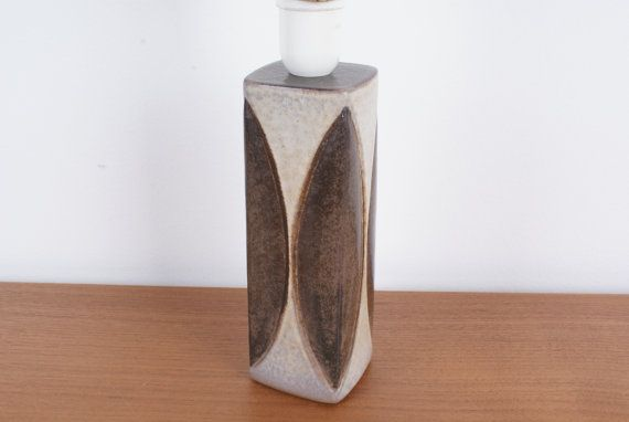 Lamp base from Michael Andersen & Son. Design by Danishartpottery