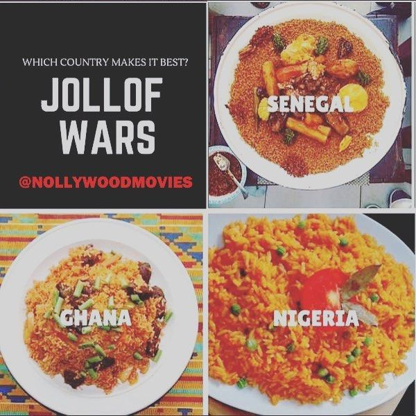 #jollofrice - Which country makes it best? #SENEGAL #GHANA #NIGERIA #Haveyoursay #nollywood #africa #foodporn #foodstagram #repost #foodie #food On #Movies . #Nollywood . #AfricanMovies . #VOD . #Entertainment . #Celebrities . #News . Intellectual Property . Tag #NollywoodMovies to be featured. nollywood.movie