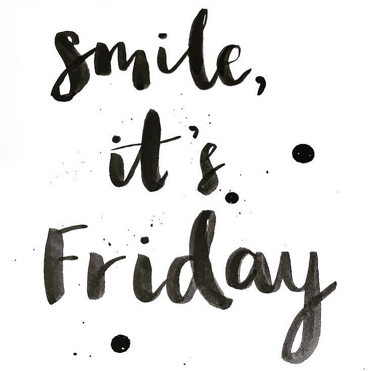 Smile, it's Friday!!  instagram.com/hattiebernstein