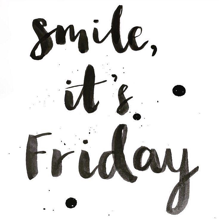 Smile, it's Friday!!  instagram.com/hattiebernstein