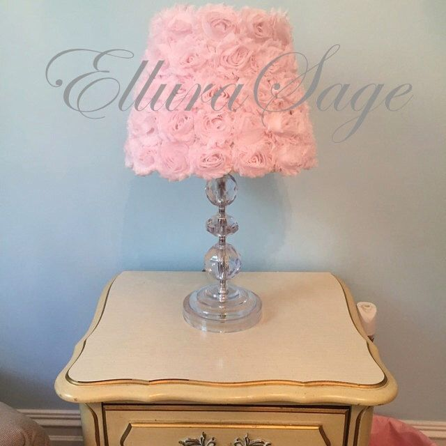 1000 Ideas About Shabby Chic Lamps On Pinterest Burlap