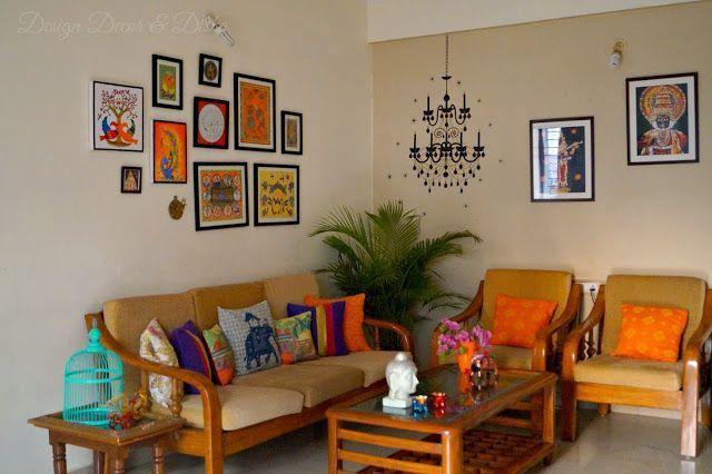 Design Decor Disha Indian Art Gallery Wall Reveal Wall Decor Indian Wall Decor Indian Decor Indian Room Decor Indian Home Interior Indian Interior Design