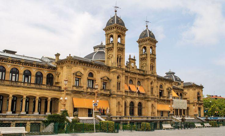 Town Hall of San Sebastian - Spain