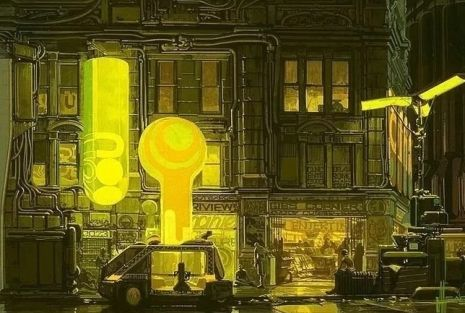 Visual Futurist: Step inside the sci-fi world created by 'Blade Runner' visionary Syd Mead | Dangerous Minds