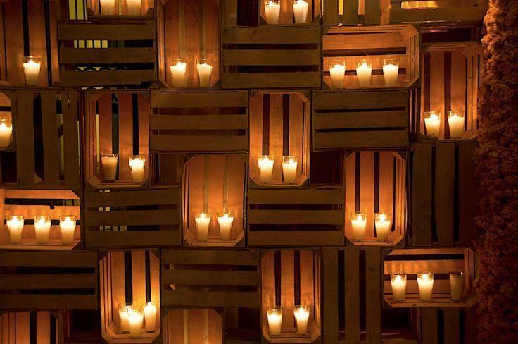 lampara huacales