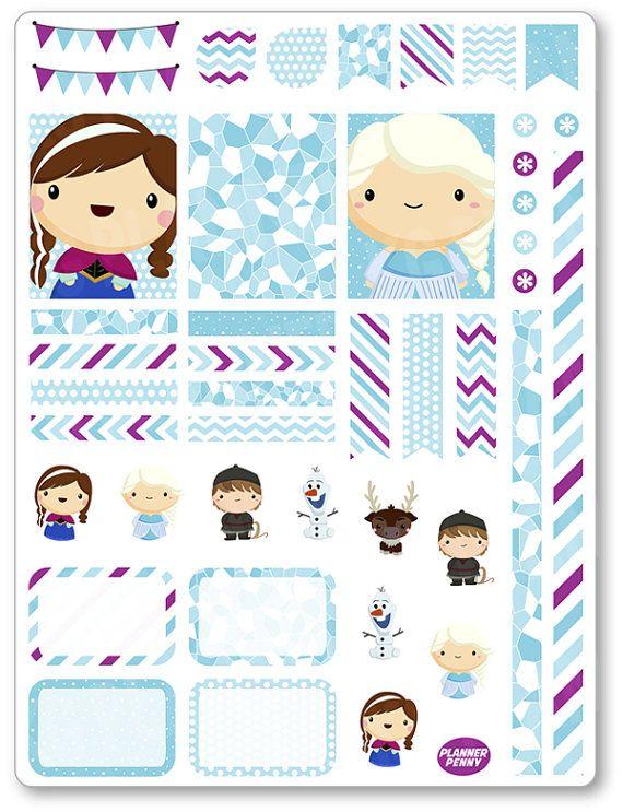 Amigos congelados decoración Kit / extensión por PlannerPenny