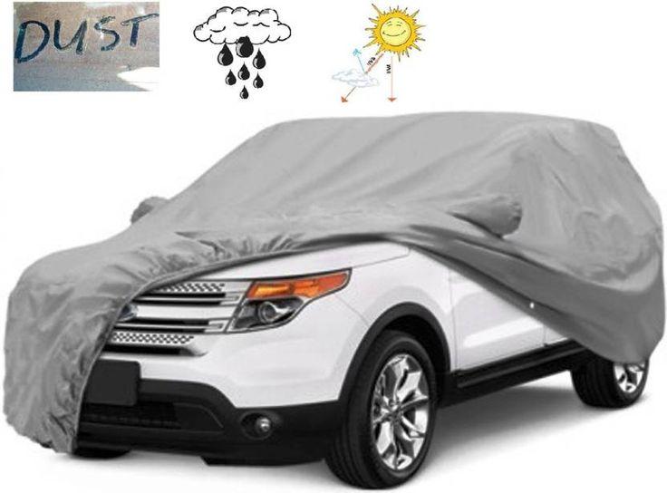 #AutoCarWinner Car #Cover For #Maruti #Suzuki #Ertiga (With #Mirror #Pockets)  (#Grey)