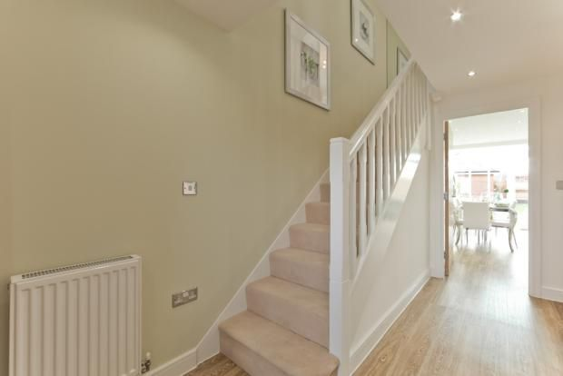 A Typical Taylor Wimpey hallway with stairs