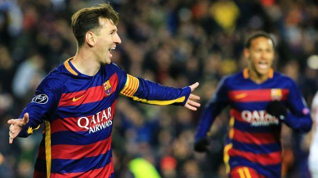 Barcelona vs. Roma. El partido terminó: 6-1 a favor de los cules, tantos de Luis Suárez  (15', 43'), Lionel Messi (18', 58'), Gerard Piqué (55') y Adriano (77'). Desconto al final Edin Dzeko (90'). Noviembre 24, 2015