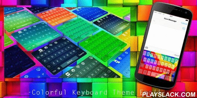 Colorful Keyboard Theme Emoji  Android App - playslack.com , It could be extremely fantastic if you can use the same theme for both keyboard and wallpaper. With colorful keyboard Theme Emoji, you will be able to change the color or the picture of your keyboard to be a colorful style, and at the same time you can change the theme of your wallpaper to align with that of keyboard.If you are still a designer style at heart, our creative designers are ready to bring you a very special brand new…