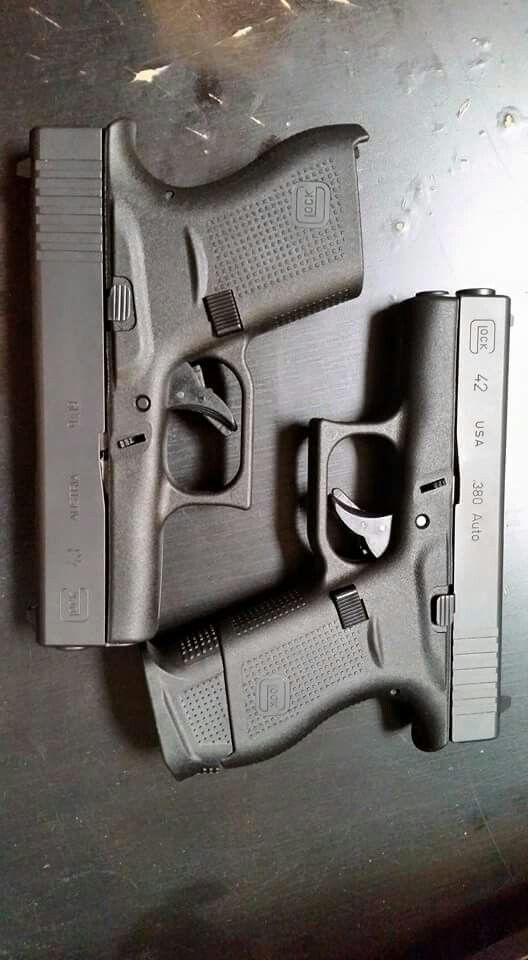 Glock 42 & Glock 43 . Very nice. However , I only purchase U.S. made firearms. One thing that is still made in high quality.