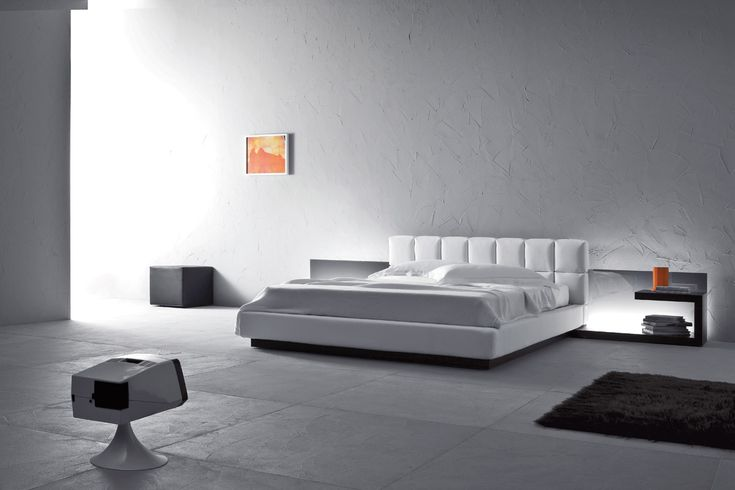 Letto Cubic cama by Pianca