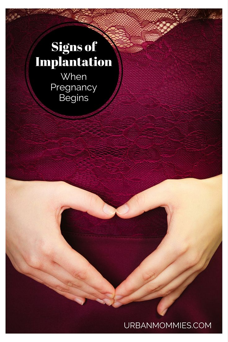 Signs of Implantation - When Pregnancy Begins