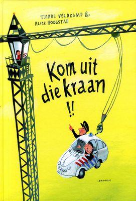 // Tjibbe Veldkamp & Alice Hoogstad // Bart gaat altijd kijken bij de bouwplaats. Op een dag klimt hij zomaar op de wals, de cementwagen en de hijskraan. Hij richt een enorme ravage aan. Maar daar blijkt hij een goede reden voor te hebben… Groot prentenboek met grappige, kleurrijke tekeningen. Vanaf ca. 4 jaar.